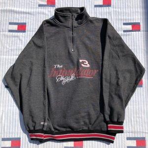 Vintage Dale Earnhardt nascar quarter zip pullover